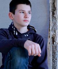 Dans ce regard, tout un monde à vivre... (Et si, et si ...) Tags: portrait charles adolescent couleur