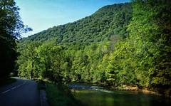 la route qui suit la Loue... (.Sophie C.) Tags: loue valléedelaloue rivière river vuillafans 25 doubs franchecomté france pse15 texture lenabem