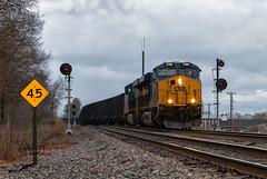 Frantz, KY (Wheelnrail) Tags: csx ge cc subdivision train trains locomotive railroad kentucky south crooked hill hazel patch berea mullins tunnel rain searchlights
