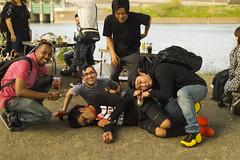 Spring BBQ-19 (Tommy_Adams) Tags: spring bbq barbecue japan tokyo futagotamagawa drinks drunk foreigner gaijin japanese river side portraits people