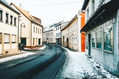 something about baumholder felt right (lina zelonka) Tags: baumholder rheinlandpfalz rlp rhinelandpalatinate linazelonka germany deutschland europe europa architecture winter snow schnee houses westrich nikond7100 18105mm town