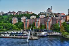 Stockholm (kh goldfoto) Tags: 2014 immereinehandbreitwasserunterdemkiel schweden stockholm nacka best panoramio1382370108494070 lillavärtan