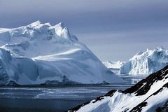 Ice Fjord 3 (Atmospherics) Tags: greenland iceburgs icescape ilulissat iceburg icefjord ice greenlandwinter atmospherics arcticcircle arctic polar icecap