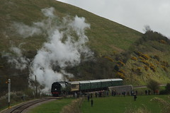 DSC01571 (Alexander Morley) Tags: swanage railway strictly bulleid steam gala 2017 pacific southern 34070 manston norden