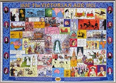 The Victorian Age (pefkosmad) Tags: 1000pieces jigsaw leisure pastime puzzle hobby victorianage incomplete missing piece mandolinpuzzles martinfrost neilgower patrickwright history