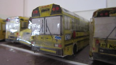 X277 - Trans Conglomerate Bus 9 (Etienne Luu) Tags: paper fictional company school bus cardstock model ic re