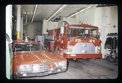 "20170406-throwback-thurs-1972-0011 (Official New York City Fire Department (FDNY)) Tags: fdny fire firefighting 1970s vintage ""throwback thursday"" tbt ""fire engine"" truck"" water nyc ladder truck ""new york city"" building suppression"" firefighter rescue smoke flames bronx"