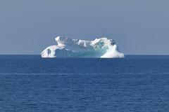 Iceberg ... But Not In Iceberg Alley (Zircon_215) Tags: iceberg newfoundland ice straitofbelleisle