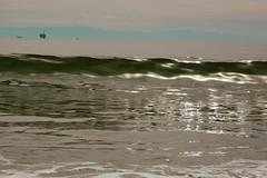 SBCarp032017-78 (MegzyTred) Tags: carpinteria state beach california carpinteriabeach santabarbara carp sb megzytred mightymightymegzy cliftonportraits wave breaking crest tide boogieboard spring waves ocean sea pacific beautiful reflection glassy glass seaweed windy sand rolling oil boat cloudy foam