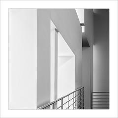 Eixe tímid racó V / That shy corner V (ximo rosell) Tags: ximorosell bn blackandwhite blancoynegro bw buildings barcelona museu macba llum luz light arquitectura architecture abstract squares minimal minimalist nikon d750 detall