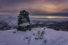 Calm before the snowstorm (stianantonsen) Tags: k2 skiis ski tour harstad norway winter snow winterlight