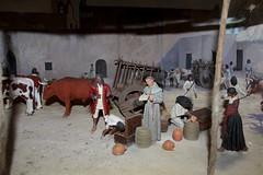 Mission Courtyard Diorama (Piedmont Fossil) Tags: goliad state park texas mission espiritu santo diorama