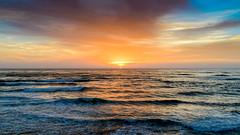 (ELMUNDOPORMISOJOS) Tags: nikond600 fullframe sandiego oceanbeach seascape sunset ocean