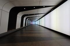 Walkway. King's Cross, St. Pancras station (ec1jack) Tags: walkway passage tunnel kingscross stpancras international station london camden england britain uk europe kierankelly canoneos600d ec1jack