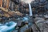 The Basalt Falls (MRC Imagery) Tags: svartifoss iceland waterfall water rock basalt sunrise nature landscape 5dmk3 1635mm longexposure winter volcanic stone formations colour color pillars columns