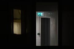 Exit! (https://www.facebook.com/ArrrrtDesignPhotography) Tags: amsterdam night still life nieuwe prinsengracht