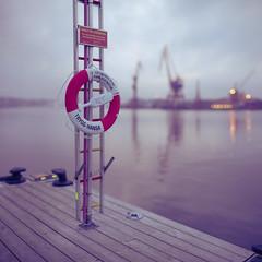Health & Safety (Edd Noble) Tags: bokeh bokehpanorama brenizermethod bokehrama canonfd85mmf12 sonya7 sweden gothenburg göteborg river