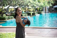 DSC_5167 (tontygammy) Tags: family girl woman female child kid momhood pool holiday vacation daughter pattaya thailand nikon d750 nikkor 24120mm tontygammy happy joy joyful portrait