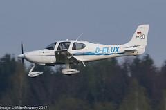 D-ELUX - 2010 build Cirrus SR20, on approach to Runway 24 at Friedrichshafen during Aero 2017 (egcc) Tags: 2035 aero aerofriedrichshafen aerofriedrichshafen2017 bodensee cirrus cirrusdesign delux edny fdh friedrichshafen lightroom n103cs sr20
