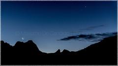 """Moonrise (""""Max Deca"""") Tags: moon moonrise mountains dolomites lavilla altabadia trentinoaltoadige varese"""
