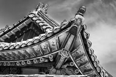 IMG_6599 (Fabian Belleville) Tags: shrine roof korea temple woodwork woodworking