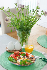 Breakfast (vas_eka) Tags: chef cooking cuisine delicious food foodphoto foodstyling foodie homemade stylish tasty breakfast flowers frühstück blumen