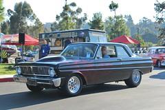 6th Annual Whittier Area Classic Car Show (USautos98) Tags: 1965 ford falcon hotrod streetrod custom flames