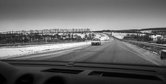 Car walk (konstantin.radchenko) Tags: car snow winter road tires storm driving test cold drive track ice traffic white weather season automobile conditions street vehicle nature travel outdoors transportation climate frost snowy trees border asphalt