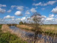 Lutjewol (Jan R. Ubels) Tags: canal water vaart sloot kanaal sky clouds cloud wolken wolk luchten netherlands nederland drenthe leutingewolde