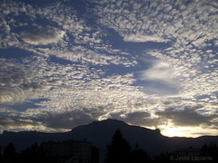 Coucher de soleil (Shandaras) Tags: sunset soleil sky ciel paysage scenery clouds nuages grenoble france europe
