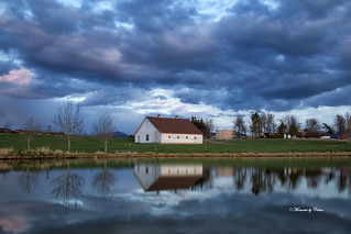 Barn & Stormy Clouds (Explore #219 24/4/17)