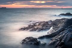 Safe Haven (garethleethomas) Tags: ships harbour harbor sea coast rocks longexposure sunset evening seascape landscape uk greatbritain pembrokeshire wales