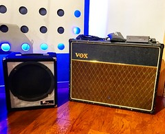 Private Conversation (Pennan_Brae) Tags: recordingsession electricguitar musicstudio recordingstudio recording music amps amp guitaramplifier guitaramplifiers guitaramps guitaramp amplifiers amplifier vox