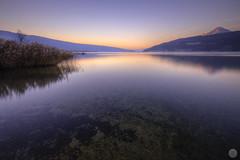 Silence [FR] (ta92310) Tags: travel hdr 74 lac lake annecy canon 6d autumn 2016 rhônealpes hautesavoie longexposure landscape paysage fall sunset night nuit