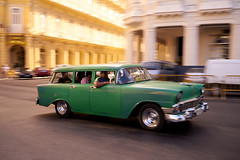 1952 Chevrolet station wagon, green, with Cubans going to work,  morning, Parque Central, Havana, Cuba (Earl Robicheaux Photography, LLC) Tags: 1952chevrolet caribbean chevrolet cuba cubans havana oldhavana parquecentral paseodemarti prado automobile bonnet car carhood hood landtransportation oldcars stationwagon transportation vehicle worldregionscountries