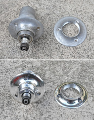 gipiemme hub before and after being polished (adam_b83) Tags: discs polished ambrosio gipiemme discwheel