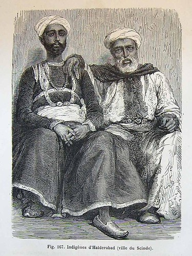 Natives of Hyderabad, city of Sind, 1870