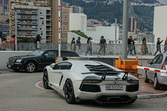 At the fairmont (Yo06Player) Tags: monaco 700 lamborghini dmc supercars lambo aventador lp700