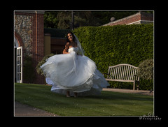 Twirl (mini-b) Tags: wedding canon groom bride kent dad nick daughter bridesmaids fatherofthebride bestman ushers maidstone roz bearsted 2013 may19th proudparent turkeymill eos5dmkii