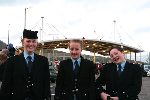 KIntyre Schools - Linsey, Becky and Caitlin