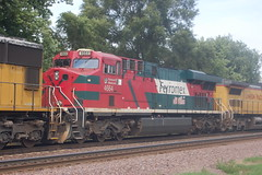 Rochelle - August 2011 (ChessieFan2) Tags: railroad car illinois tank pacific union trains covered gondola locomotive coal hopper freight bnsf rochelle dieselengine intermodal