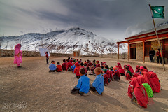 Open Air School (SMBukhari) Tags: school winter girls pakistan boys students weather classroom class study studying coeducation natgeo baltistan winterschool nationalgeography ghizar openairschool syedmehdibukhari smbukhari