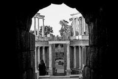 Teatro de Mrida (H C X) Tags: blanco teatro negro ciudad romano meridad ringexcellence dblringexcellence tplringexcellence eltringexcellence