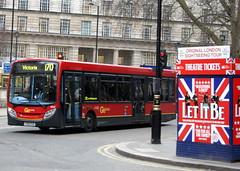 Go Ahead London SE54 YX60EOO Alexander Dennis Enviro 200 (chrisbell50000) Tags: favorite bus london ahead station go victoria deck single 200 alexander dennis favourite 170 enviro decker se54 yx60eoo chrisbellphotocom