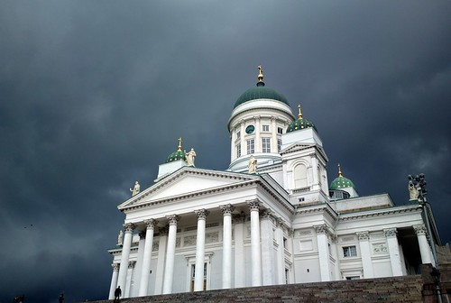 Helsinki cathedral, moments before rain (Nokia 808)
