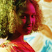 Beautiful Somali Lady Philadelphia Studio Portrait African Ethnic Traditional Red and Orange Dirac Guntiino Dress Miss Somalia Aug 1998 062
