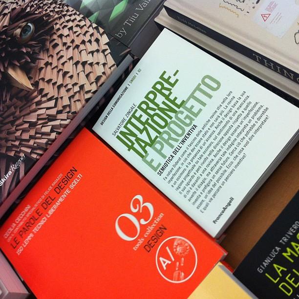 Piccole soddisfazioni in libreria. (2) #interpretazioneeprogetto