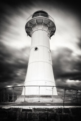 Wollongong Lighthouse (BRIAN WOOD IMAGES) Tags: sky clouds buildings landscapes twilight australia places nsw wollongong illawarra