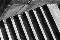 IMG_3261 (Wespennest) Tags: park shadow blackandwhite white black alexandria concrete virginia raw fort angles sediment pitch fortification asphalt hunt tar beton brut weathering forthunt betonbrut rawconcrete