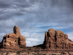 Arches National Park 3 (Warren06) Tags: utah sandstone desert hiking sightseeing heat monuments rockformations mygearandme mygearandmepremium mygearandmebronze mygearandmesilver redrockarid